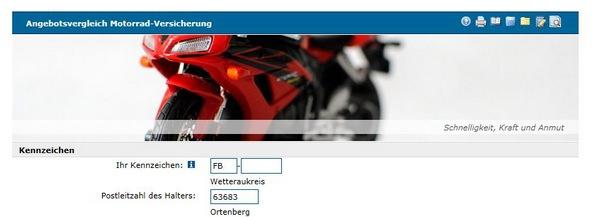Motorradversicherungsvergleich Teil 1